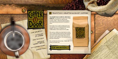 Перейти на Copper Door Coffee