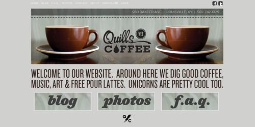 Перейти на Quills Coffee