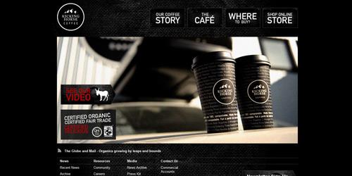Перейти на Kicking Horse Coffee