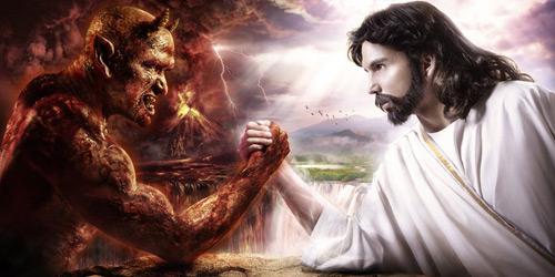 Перейти на Devil vs Jesus