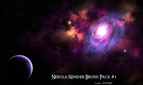 Скачать Hi Res Nebula Brushes