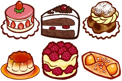 Скачать Patisserie Icons By Cedarseed
