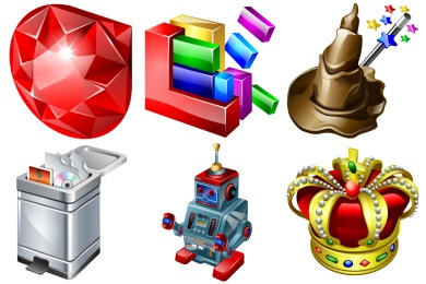 Скачать Real Vista Development Icons By Iconshock