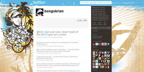 Перейти на @bongobrian