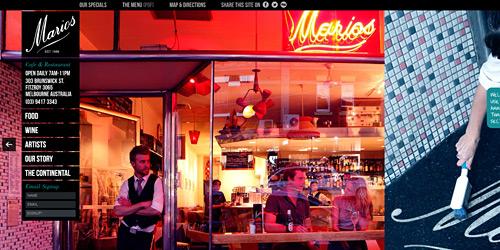 Перейти на Marios Cafe