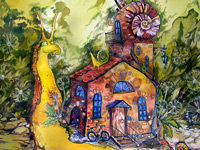 Уютные и обаятельные мультяшные работы от Марии Каминской