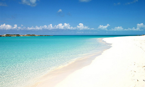 Скачать Tropic of Cancer beach Exuma Island Bahamas