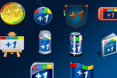 Скачать Google +1 Icons