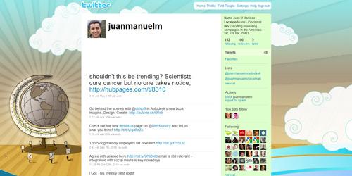 Перейти на @juanmanuelm