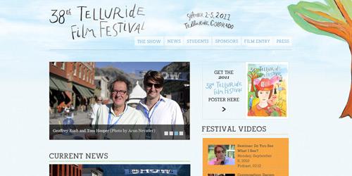 Перейти на Telluride Film Festival