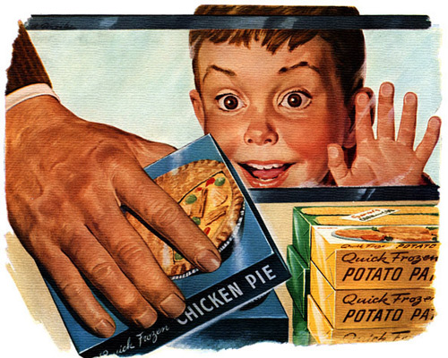 Перейти на Frozen Foods Mean Finer Living, 1955