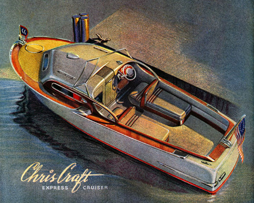 Перейти на Chris-Craft, 1943