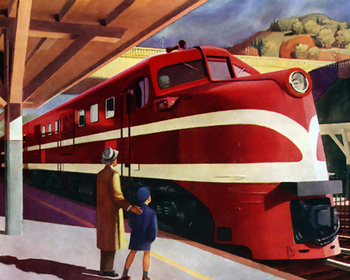 Перейти на What do you feed an Iron Horse? American Locomotive, 1944