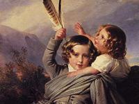 Придворная светская живопись в исполнении Франца Винтерхальтера