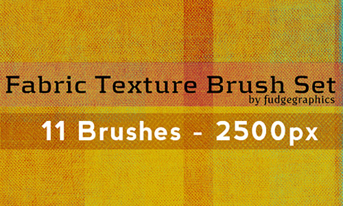 Скачать Fabric Texture Brush Set