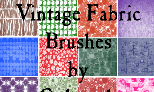 Скачать Vintage Fabric Brushes