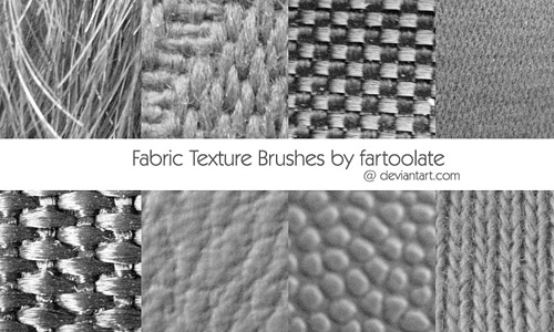 Скачать Fabric Texture Brushes