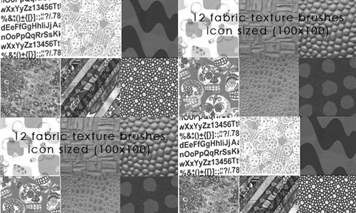 Скачать Fabric Texure Brushes 3