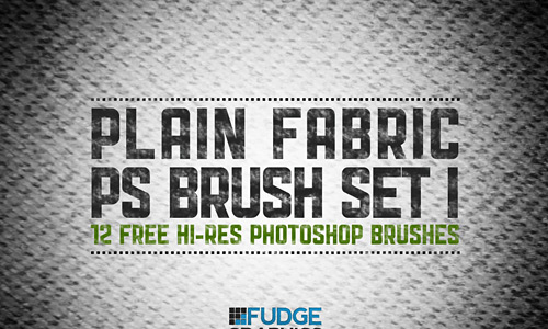 Скачать Plain Fabric PS Brush Set 1