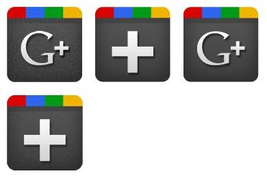 Скачать Google Plus Icons
