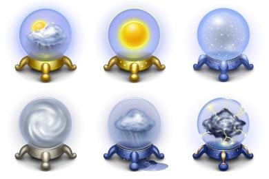 Скачать Magic Weather Icons