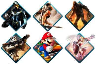Скачать Water Gaming Icons