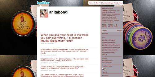 Перейти на @anitabondi