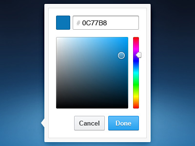 Перейти на Color Picker