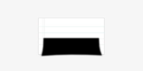 Создаем в фотошопе линованный стикер с текстом и кусочком скотча