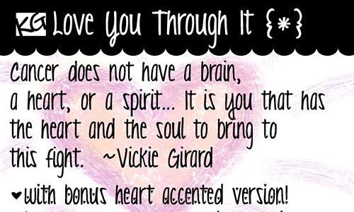 Kg Love You Through It