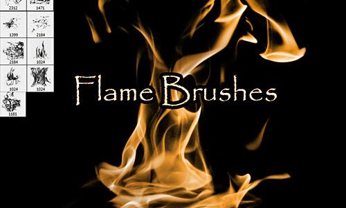 Скачать Flame Brushes