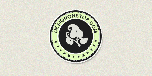 Создаем в фотошопе логотип текстом по кругу и лентами по бокам
