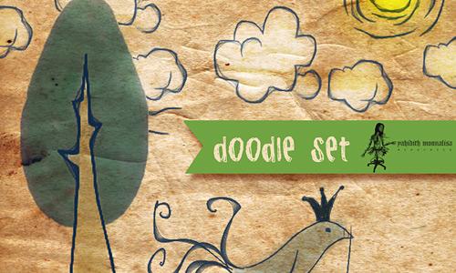 Скачать Doodle Set One