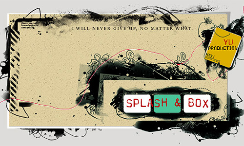 Скачать Splash and box brushes