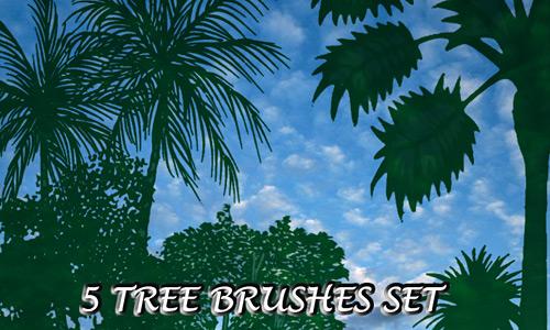 Скачать 5 Tree Brushes