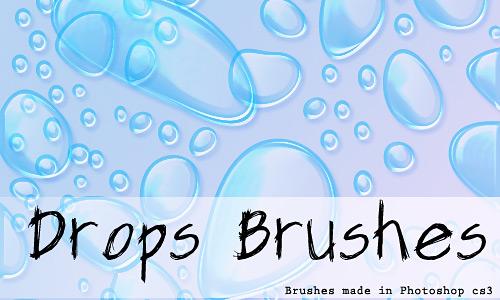 Скачать Drops Brushes