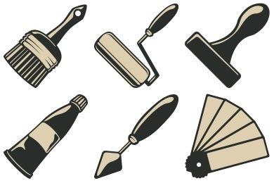 Скачать Vintage Icons By Designcontest