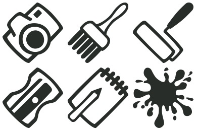 Скачать Outline Icons By Designcontest
