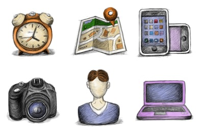 Скачать Handy Icons By Double J Design