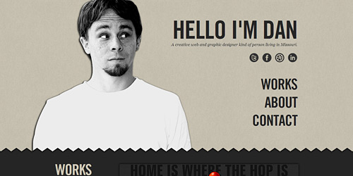 Перейти на Hello I'm Dan