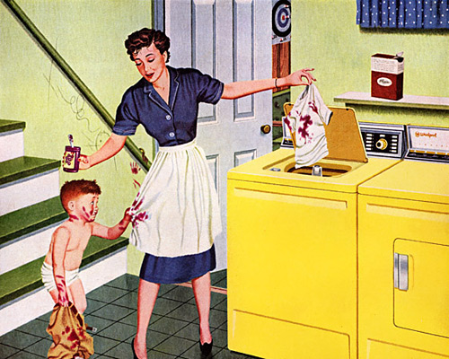 Everything comes clean with an RCA WHIRLPOOL, 1959