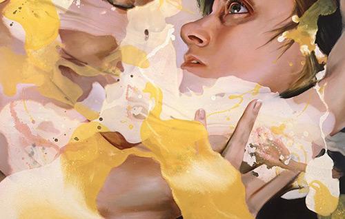 Странное, но впечатляющее творчество художницы Angela Fraleigh
