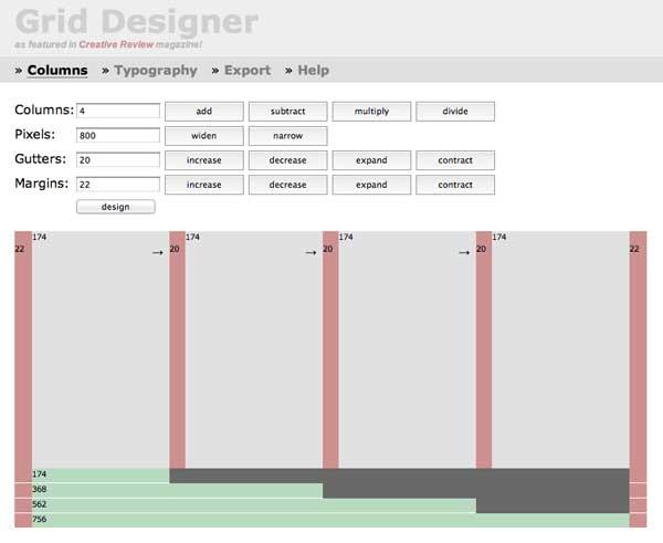 Перейти на Grid Designer