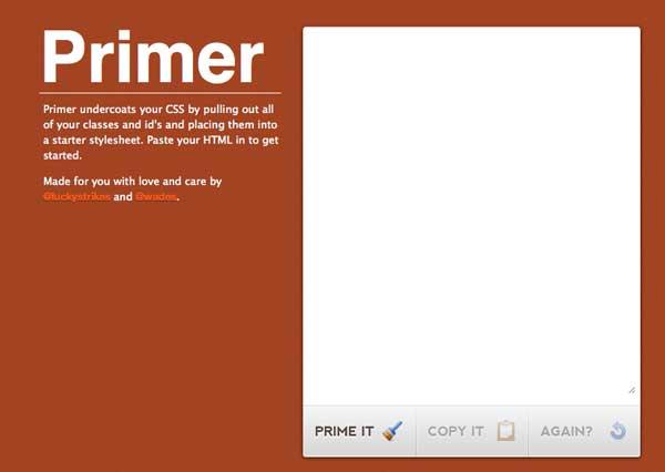 Перейти на Primer CSS