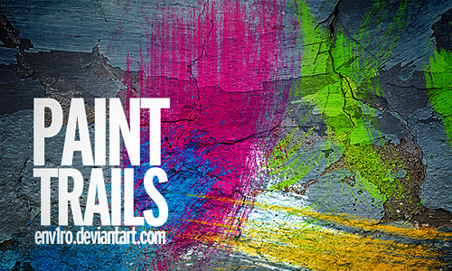 Скачать Paint Trails brushes