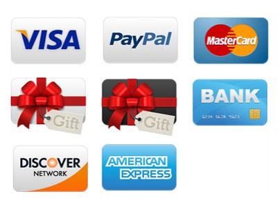 Скачать Credit Cards Icon Set