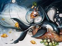 Загадочные внеземные персонажики от художника Greg Simkins