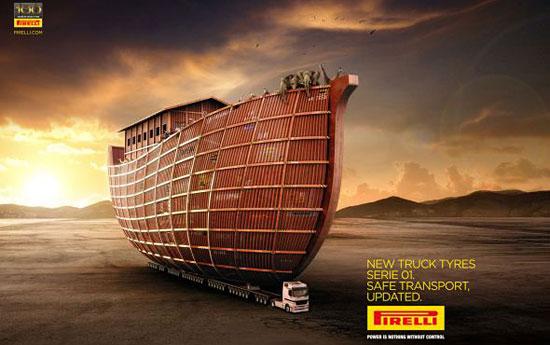 Перейти на Pirelli Truck Tyres Noahs Ark