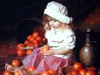 Детские образы и обывательские сюжеты от художника Моргана Вейслинга