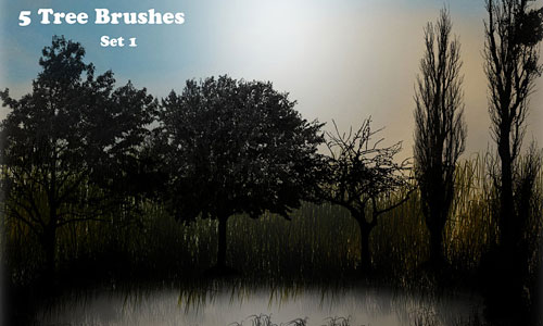 Скачать Tree Brush SET 1 PS